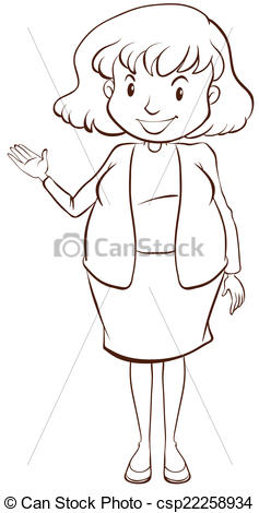 Sketch clipart simple Of Illustration of simple A