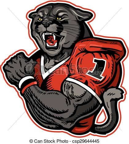 Dead clipart panther Illustrations royalty ideas clip football
