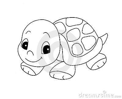 Sketch clipart tortise Cute turtle girl Black ideas