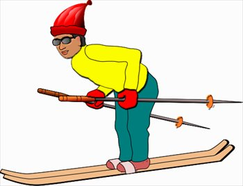 Ski clipart Free ski Images Skiing and