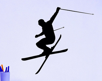 Ski clipart freestyle skiing Ski Jumping Skiing Wall Sports