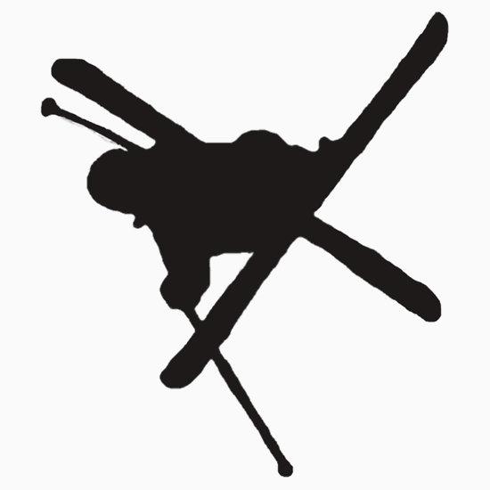 Ski clipart freestyle skiing Klejonka Freestyle freestyle Silhouette Ski