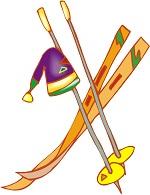 Ski clipart snow skiing Snow Teen clipart Craft: Harris