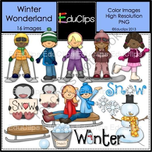 Winter clipart activites On (16 on ski from
