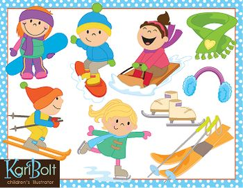 Winter clipart fun kid About Pinterest Fun images /