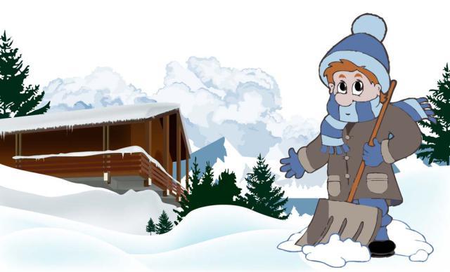 Ski Lodge clipart Clip Clipart Art Lodge Ski
