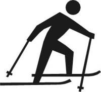 Skiing clipart Country Clipart Free Skiing Images