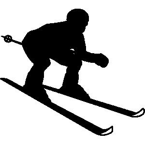 Skiing clipart Art clip #97 skiing Skiing
