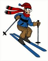 Skiing clipart woman And Photos Free Skiing 1