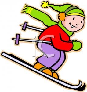 Skiing clipart cartoon Download Skiing Winter Winter Clipart