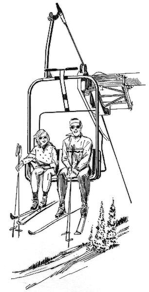 Skiing clipart chairlift  lift ski chair /recreation/sports/ski/ski_chair_lift