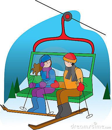 Skiing clipart chairlift Ski Clipart Photo Lift China