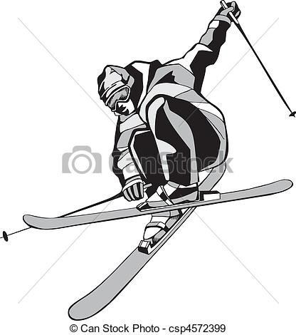 Skiing clipart freestyle skiing Of skis Mountain of skis