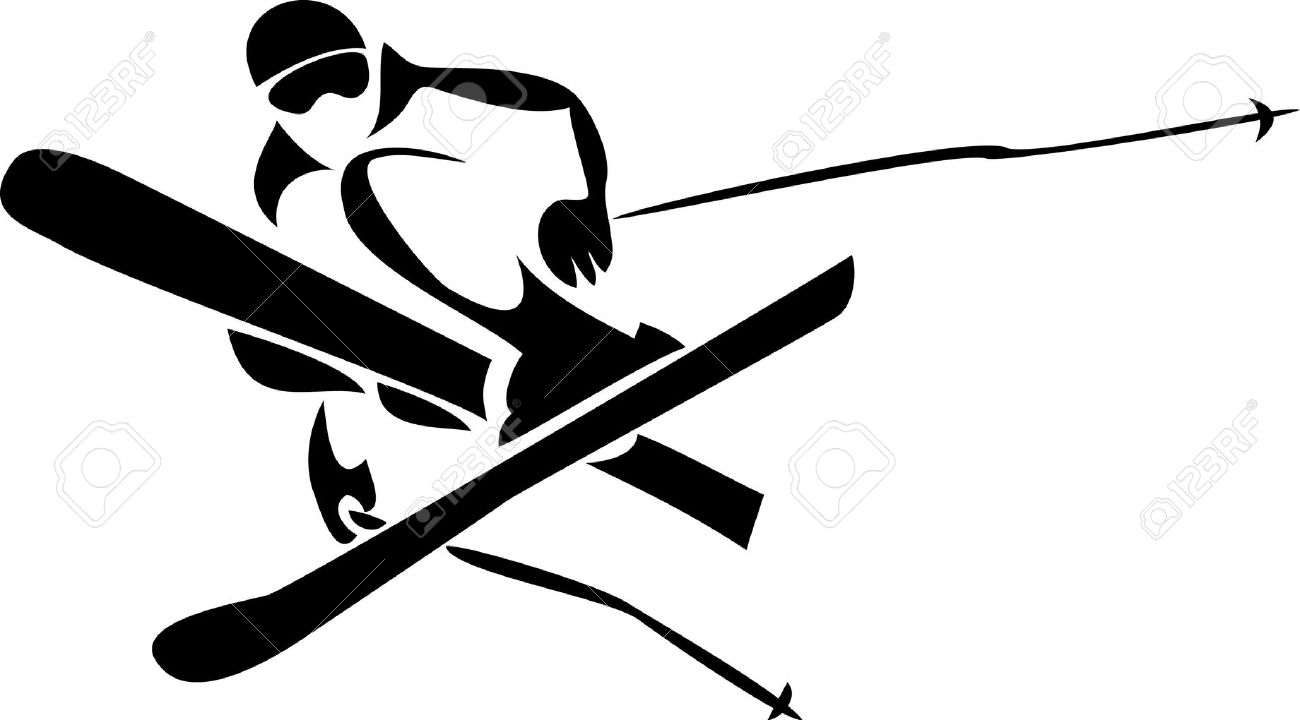 Skiing clipart freestyle skiing #20 Clipart 62 #99 art