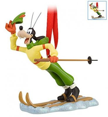 Skiing clipart goofy (2010) ornament skiing Goofy collection