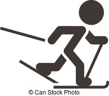 Skiing clipart nordic skiing Icon country skiing of