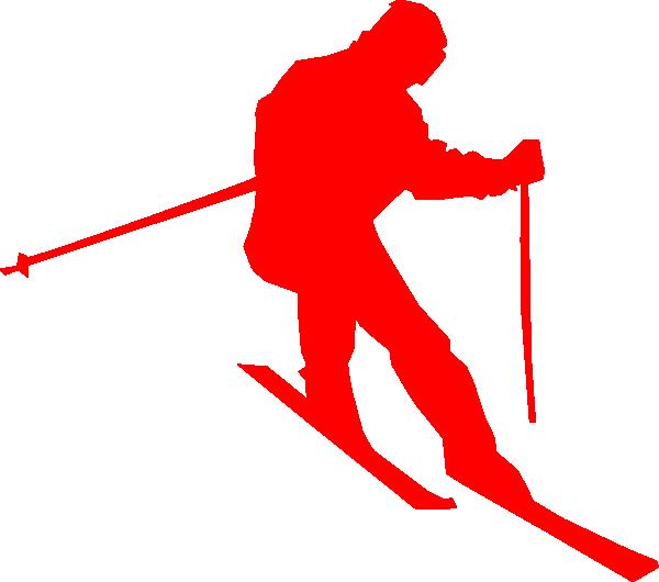 Ski clipart pair skis Art free clip vector online