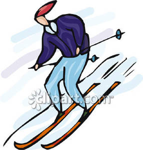 Skiing clipart person skiing Clipart Skiing Picture Picture Royalty