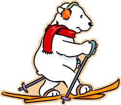 Skiing clipart polar bear A Describing Outsider: Child a