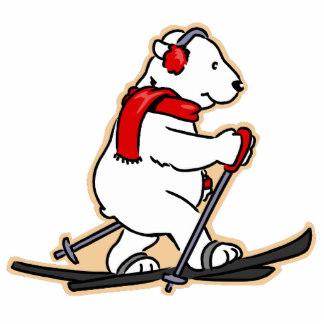 Skiing clipart polar bear Polar Photo Christmas Polar Gifts