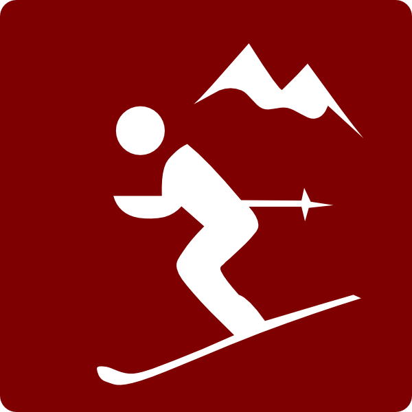 Skiing clipart skier Hotel Clip as: com
