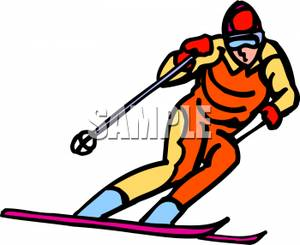 Ski clipart downhill skiing Snow Clipart Snow Skiing Clipart