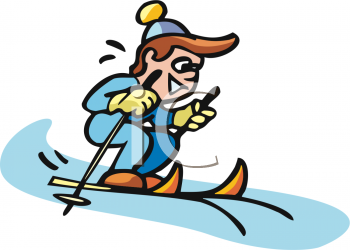 Skiing clipart snow skiing – Clipart Snow Skiing Art