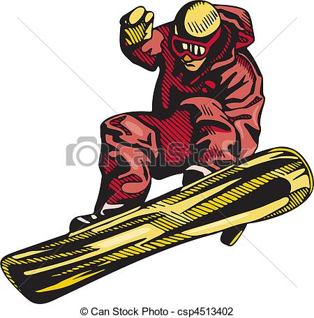 Skiing clipart snowboarding Clipart  And Skiing Snowboarding
