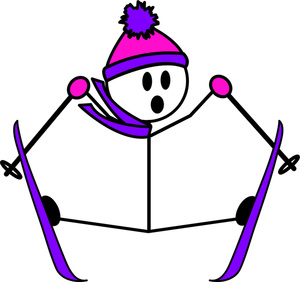 Crash clipart skier Figure with Image: Clipart Stick
