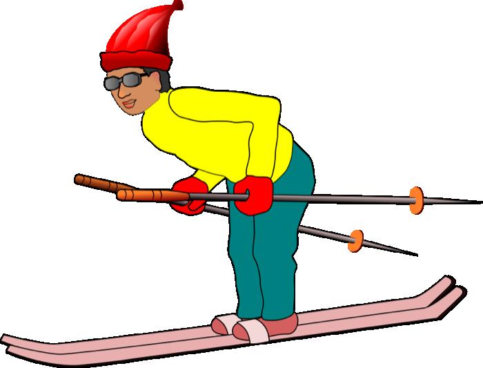Skiing clipart winter sport Sports Clip Art Clip Sports