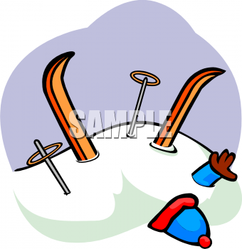 Skiing clipart wipeout Free Clipart Skiing Skiing Royalty