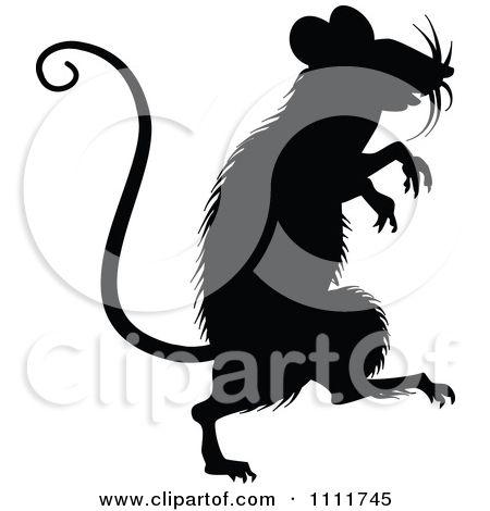 Rat clipart halloween #9