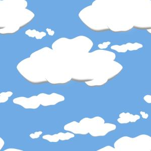 Bright clipart animated Stars bright cartoon Seamless clouds