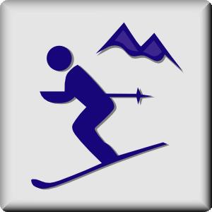 Ski clipart snow skiing Panda Ski Clipart Images Clip