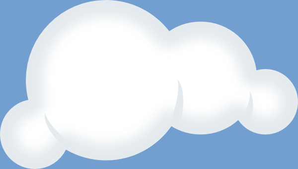 Clouds clipart animated Clker com Art free public