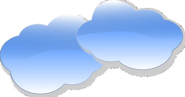 Clouds clipart animated Clker com Art  public