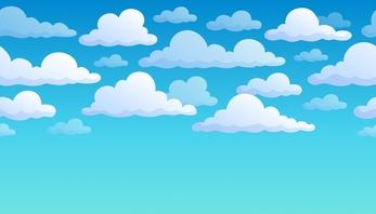 Clouds clipart sky blue  Background Cartoon sky background