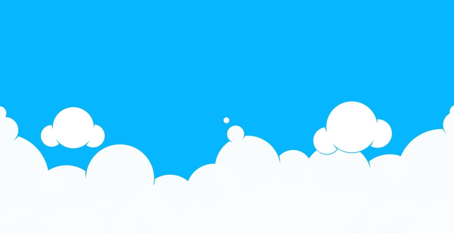 Clouds clipart sky blue Background Blue schliferaward grass Clipart
