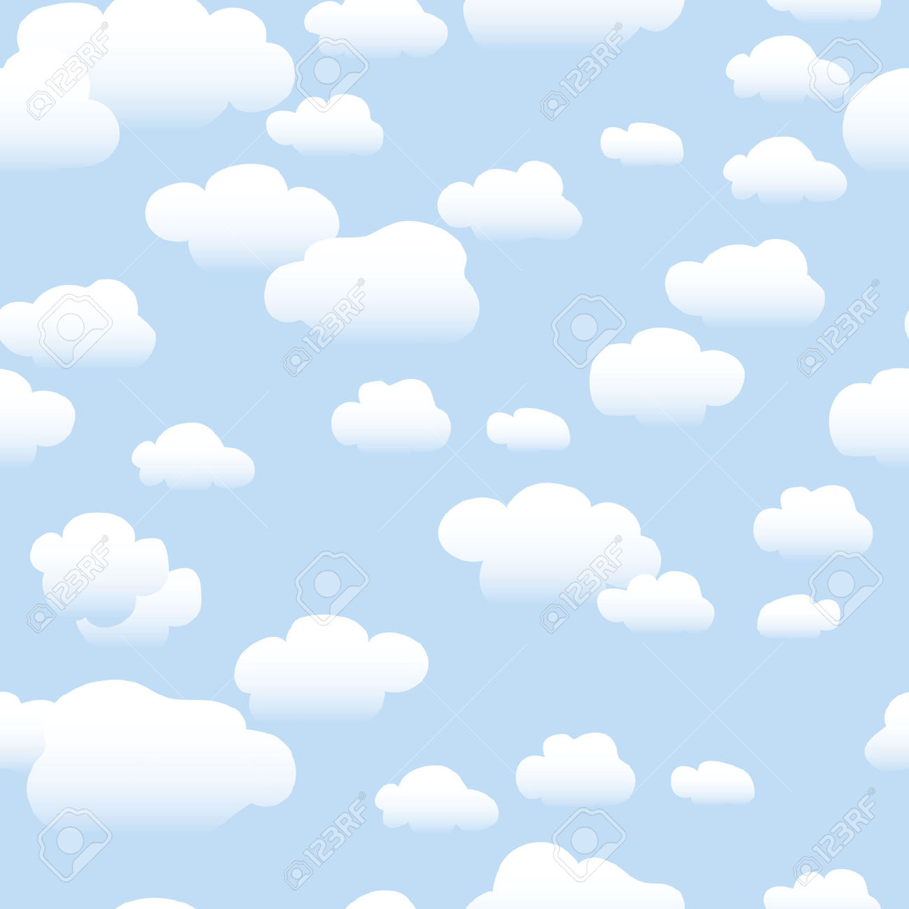 Clouds clipart blue background Background Clipart (3419) — Clipart