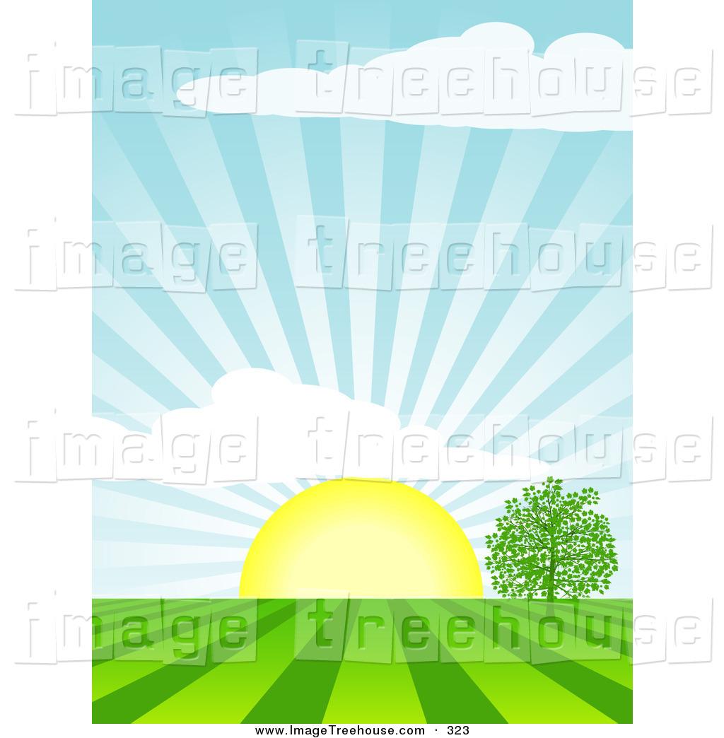 Morning clipart rising sun Images Clipart Free Panda Clip