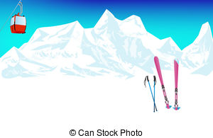 Skiing clipart mountain skiing Free in 17 Skiing royalty