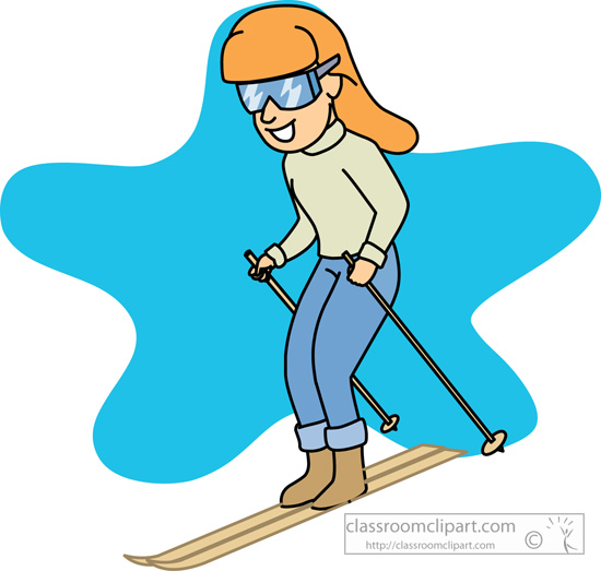 Skiing clipart snow skiing #7 art ski clip Clipart
