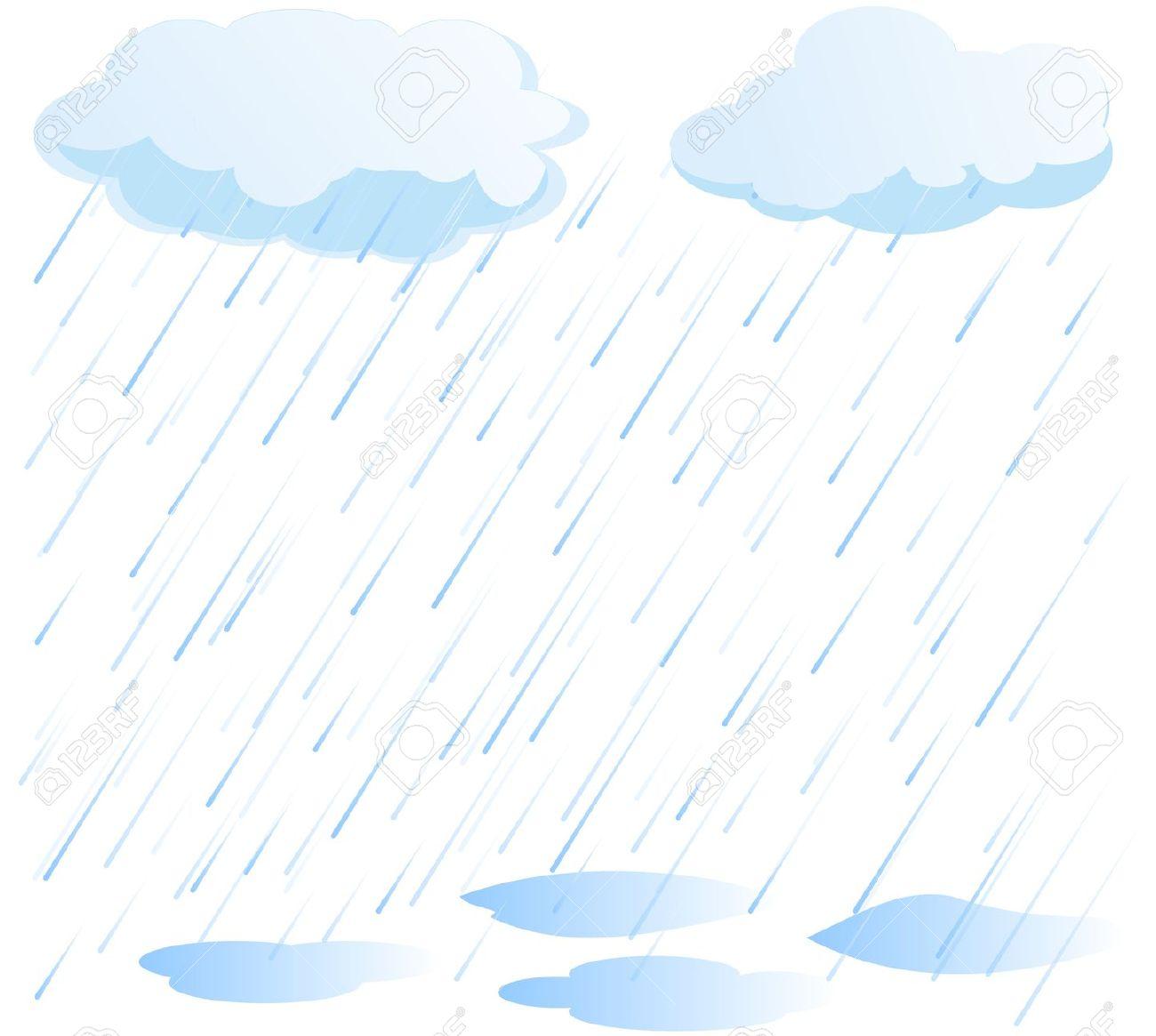 Background clipart rainy Cartoon sky Free Clip on