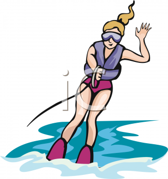 Skiing clipart woman Free Clipart Aquifer one%20hand%20clipart Images