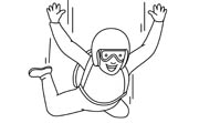 Skydiving clipart Sports Kb Graphics 31 for