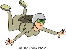 Skydiving clipart Skydiver sellingpix5/452; and Artby