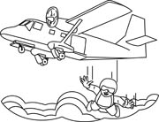Skydiving clipart airplane Clipart Skydiving Airplane Resolution 180x138
