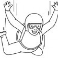Skydiving clipart airplane Free Of Free Clipart Plane