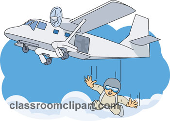 Skydiving clipart airplane From: Size: of plane jumping