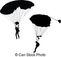 Skydiving clipart hang gliding Of Flying glider; off; hang